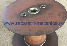 Tambur infasurare sarma trefilata d 377x D 800x H 600 mm