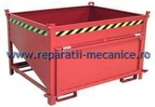 Container cu autodescarcare pentru gunoi 1500x800x1000