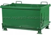 Container cu fund basculant pentru deseuri 1200x800x1000