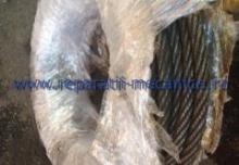 Cablu de tractiune  D=16 6X37 mat WSC sZ, uns cu inima metalica