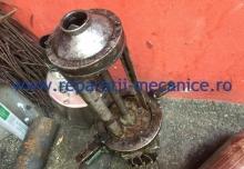 Reparatie pompa de racire strung, bobinaj, presetupa, schimbat rulmenti