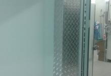 Placare toc usa și perete cu tabla striată aluminiu 210x400x2000mm