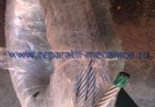 Cablu de tractiune din inox 12 mm, cu inima vegetala, fabricatie dispozitive de tractiune