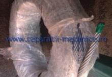 Cablu de tractiune zincat D=9 6X19 zn IWRC sZ