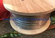Cablu otel zincat diametrul 4mm, 100 ml