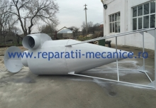 Ciclon desprafuire aer, D 1350 mm, 16000 mch, Tabla grosime 1mm
