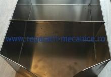 Crinta inox alimentar 250x300,370x140x 1.5xmm 10 L