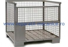 Boxpaleti metalici tip 1 - 1000x600x600