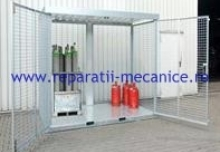 Spatiu exterior securizat pentru depozitare - 3000x1200x2000