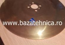 Ascutit disc pentru taiat otel fi 350 x 3 x fi 40