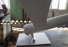 Snec cu motoreductor si gura de umplere 300x300mm