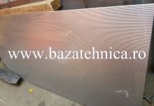 Tabla perforata din inox 0.8x1000x2000 mm
