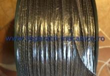 Cablu Otel Zincat Plastifiat, fi 2 mm, lungime 200 ml, greutate 5.1 kg