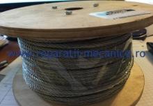 Cablu tractiune din otel 4mm, rola 100 m