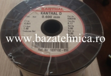 Nichelina Kanthal fi 0.6 mm, mosor 3.7 kg