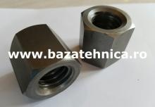 Piulita MES 28AR 28 mm din otel hexagon