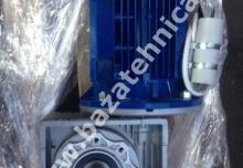 Motoreductor melcat tip CHM 090, motor electric monofazat 2.2 kw 1400 rpm
