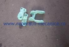 Reparatie furca transpaleta, completat material, sudura, frezare, productie bucse