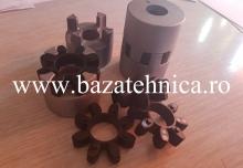 Cuplaj din aluminiu format din 2 buc Semicuplaj GRMALU 28-38B
