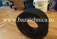 Fulie, roata de curea SPB 224 x 4 caneluri pentru curea trapezoidala de 17 mm