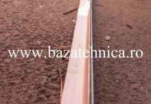 Cornier din inox 30x30x3 mm, 3 m lungime