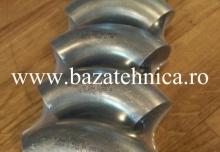 Coturi din inox 40x1.5 mm
