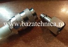 Cupla pneumatica cu deconect rapida fi 12 mama + cupla pneumatica cu deconect rapida tata fi G3-8