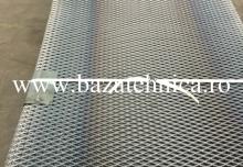Tabla expandata cu gauri romb 10x5 mm format-1000x2000 mm
